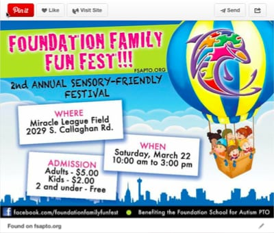 Free Family Foundation Fest in San Antonio  on March 22, 2014