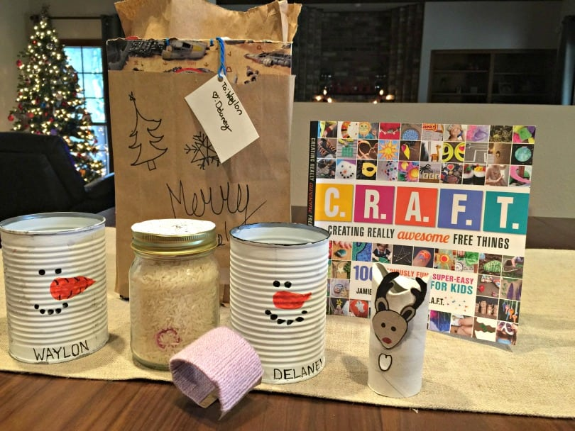 CRAFT: Creating Really Awesome Free Things - 100 fun, easy, free crafts for kids (and adults!)