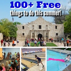 100+ free things for kids and families to do this summer in San Antonio