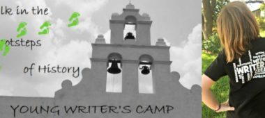 Free young writer's summer camp in San Antonio for kids going into 4, 5 and 6 grade at Mission San Juan Capistrano