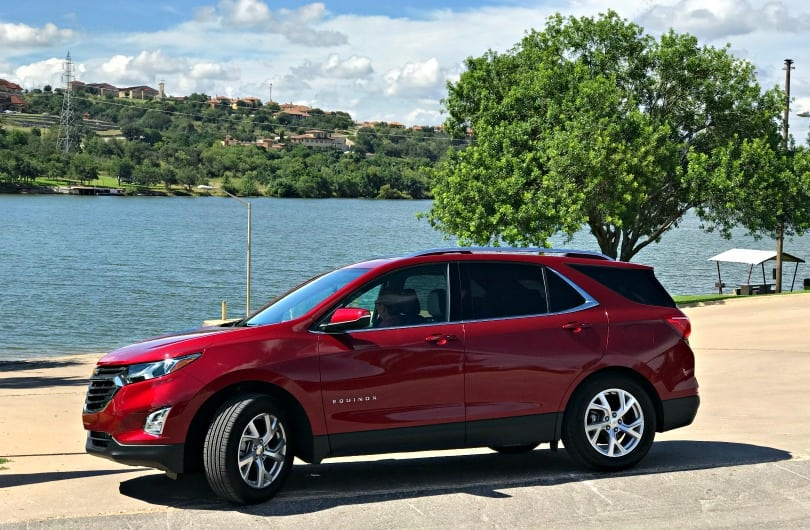 Texas road trip in the Chevy Equinox