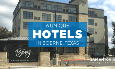 6 Unique Resorts and Hotels in Boerne TX