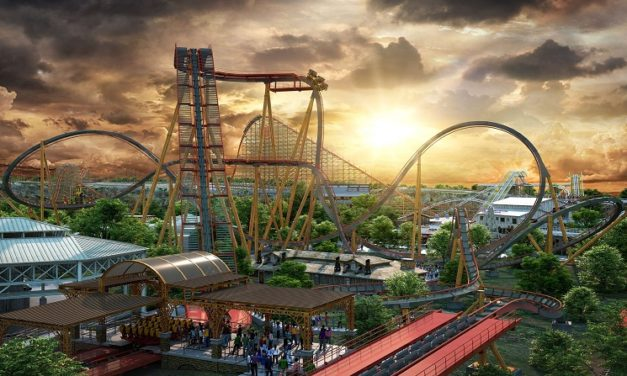 Dr. Diabolical's Cliffhanger – World's Steepest Roller Coaster Coming to Six Flags Fiesta